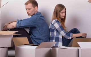 moving out divorce